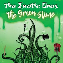 The Green Slime vinyl release cover